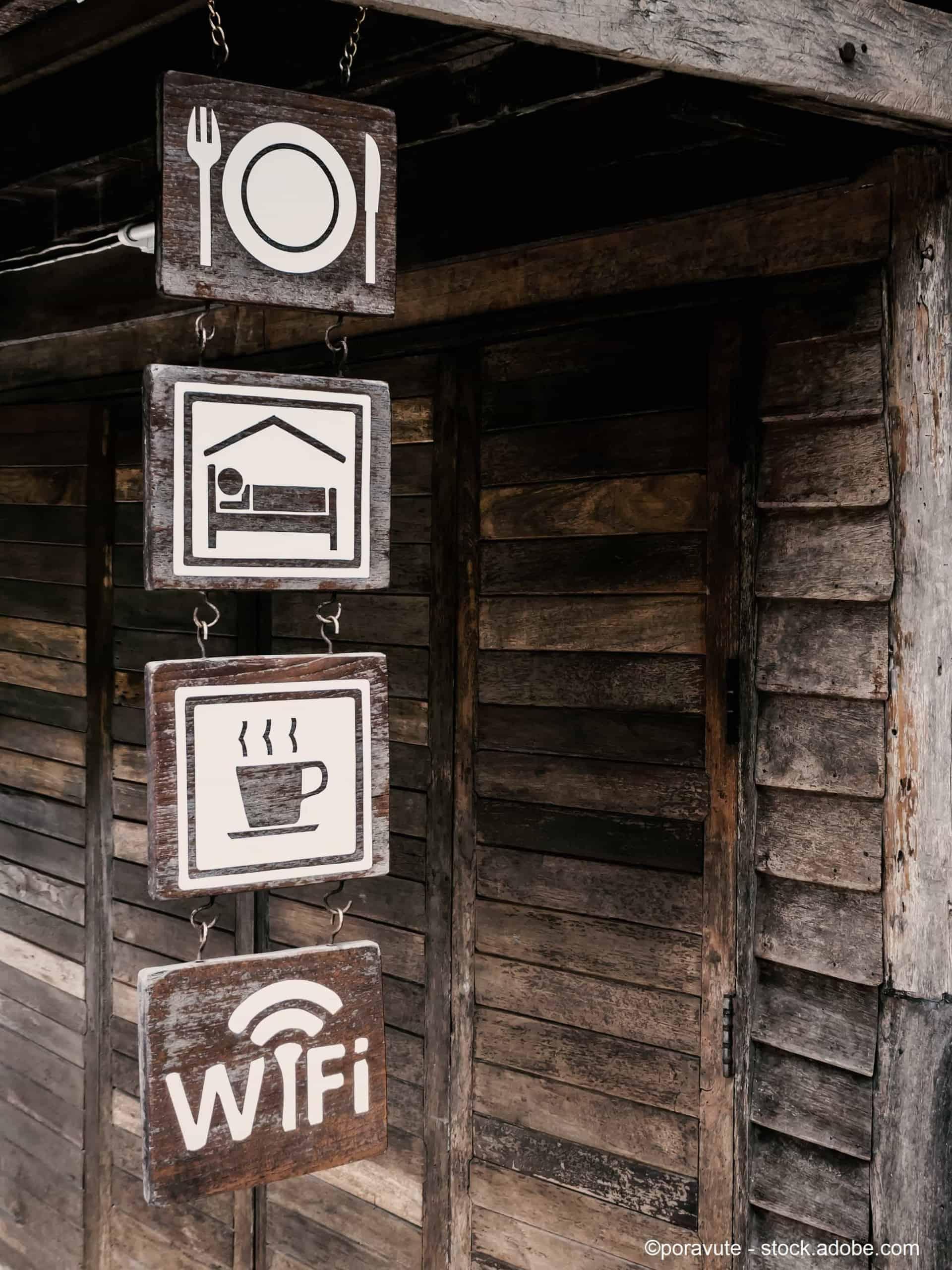 WLAN Hotspot WiFi Lösungen Hotels, Gaszugang Pensionen Aplas IT verstärken