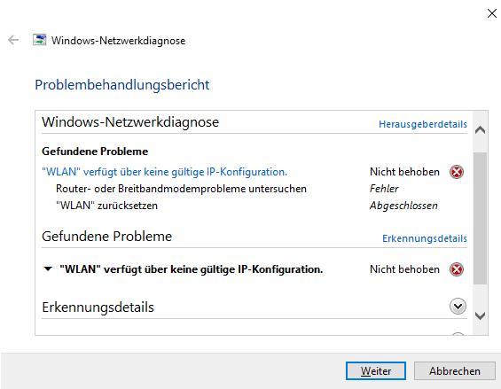 Windows-Netzwerkanalyse-kein-WLAN funktioniert nicht
